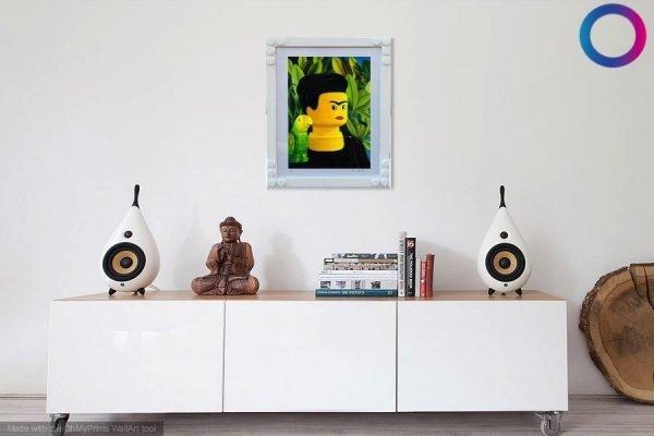 Frida Kahlo autoritratto - Stampa di Stefano Bolcato