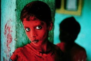Steve McCurry - Festival of Ganesh Mumbai, India 1996